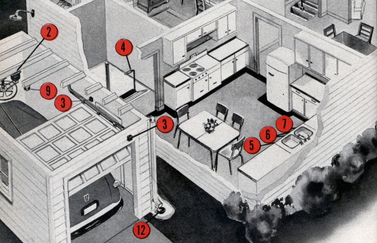 1950s Homes of the Future Were Going to Push-Button All The Things