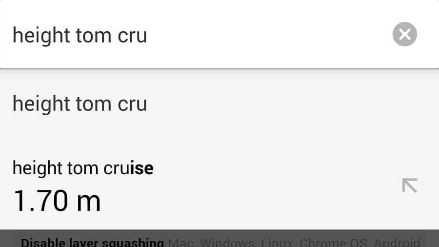 Turn Chrome For Android Into a Fast Fact Machine With One Tiny Tweak