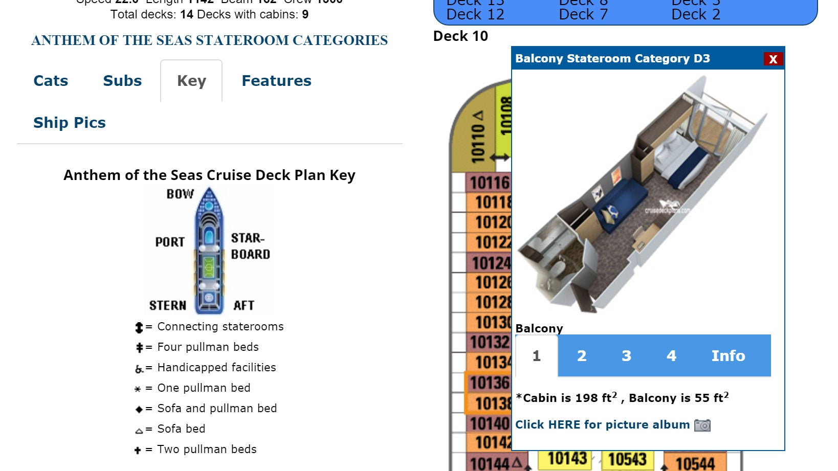 Cruisedeckplans Helps You Choose the Best Cabin for Your Cruise