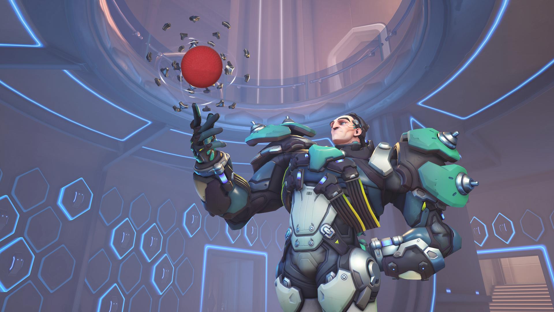 New Overwatch Custom Mode Turns Sigma Into A Dodgeball Player