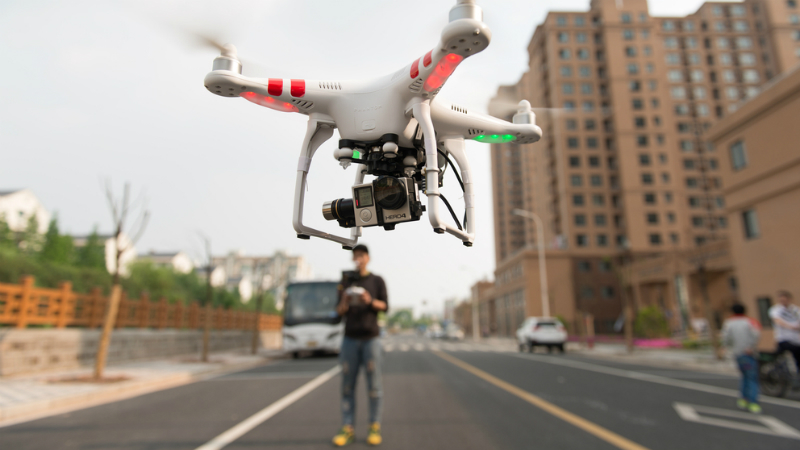 Drones Might Not Be Dangerous For Planes After All