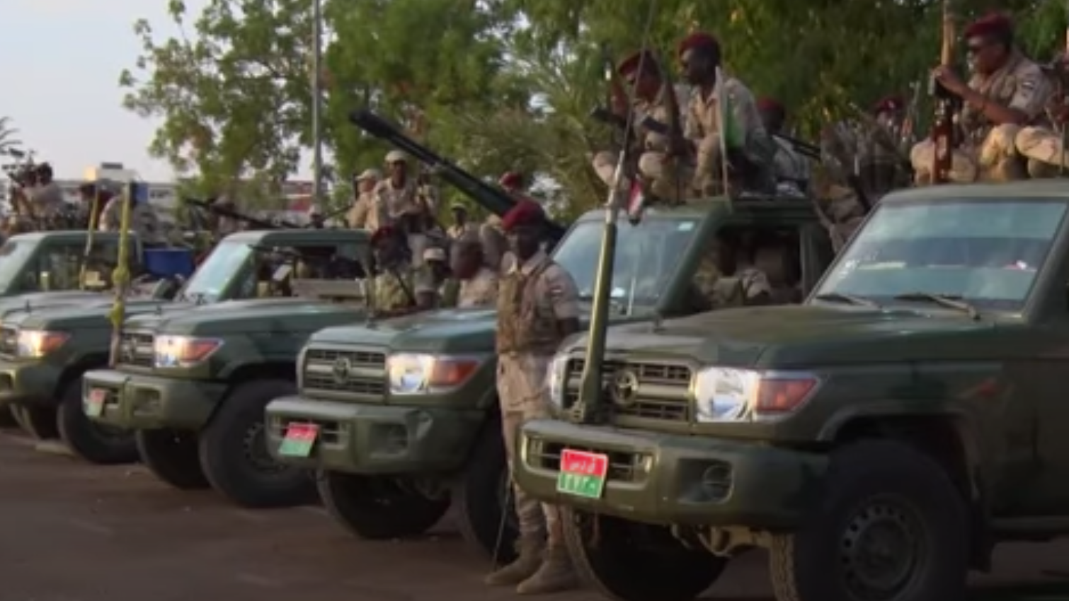 This Is How Sudanese Militants Get Their Hands On So Many Toyota Pickups