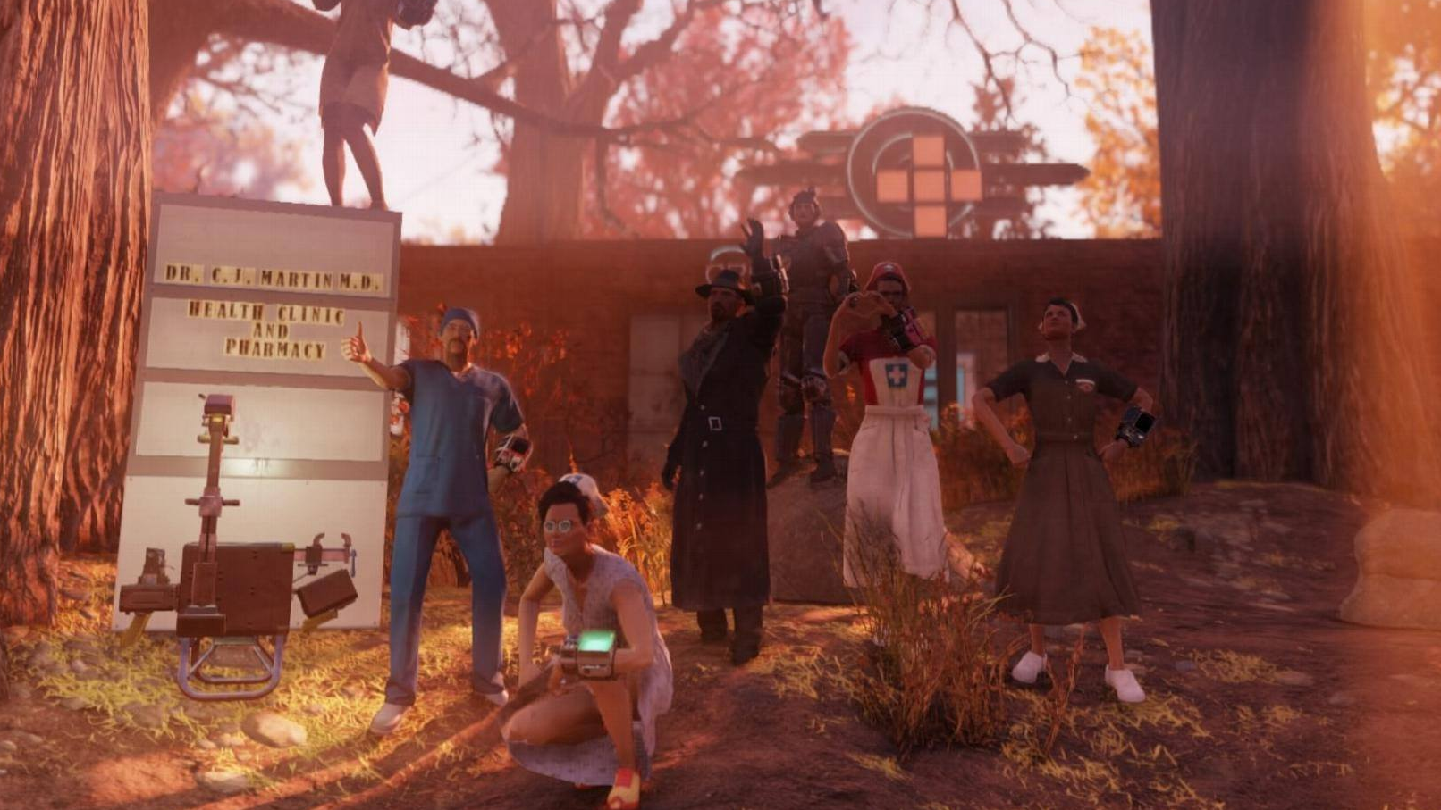 Fallout 76 Players Donate To Wasteland Doctor Whose Real-Life Home Caught Fire