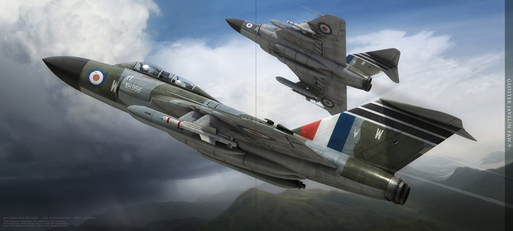 Guilty Pleasure: Sweet Drawings Of Military Aircraft