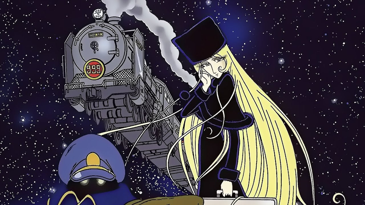 The Long-Lost Dubbed Galaxy Express 999 Movies Look Amazing But Sound Bonkers