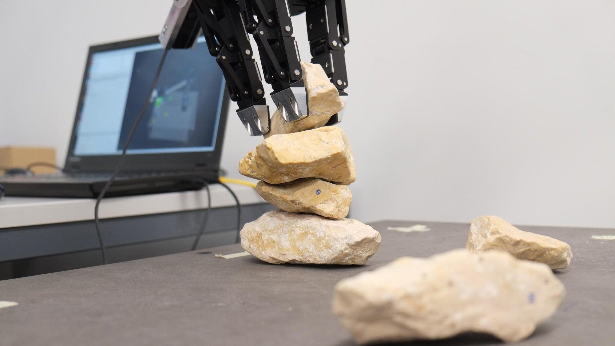 Rock-Balancing Robots Could Build Our Future Habitats On Mars