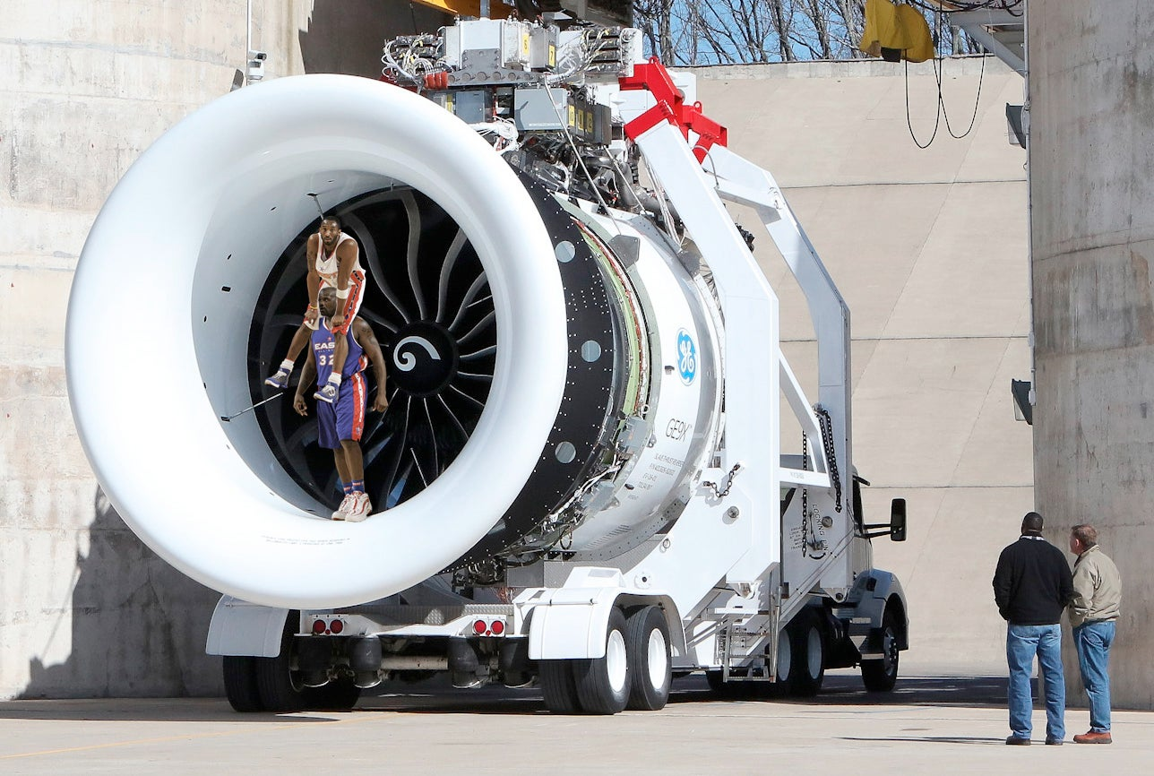 Here's the World's Largest Jet Engine