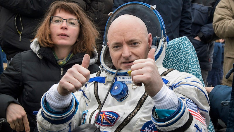 Sony Is Making A Movie Out Of Scott Kelly's Year In Space