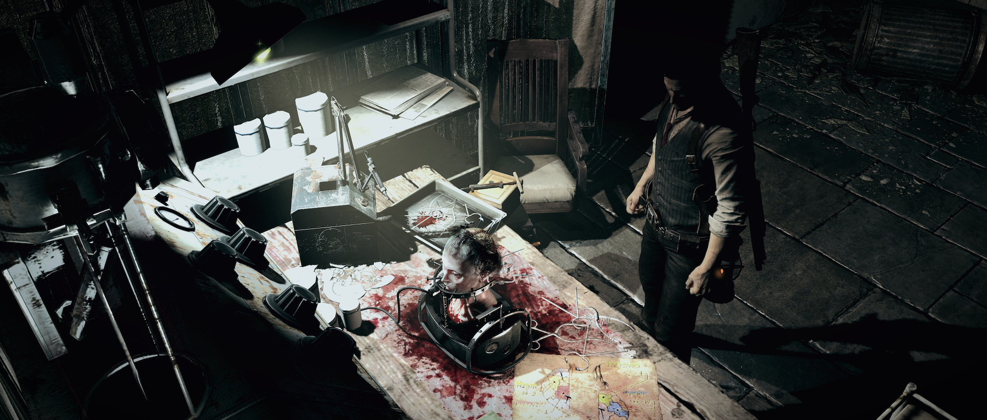 The Evil Within Made Me Want To Throw Up