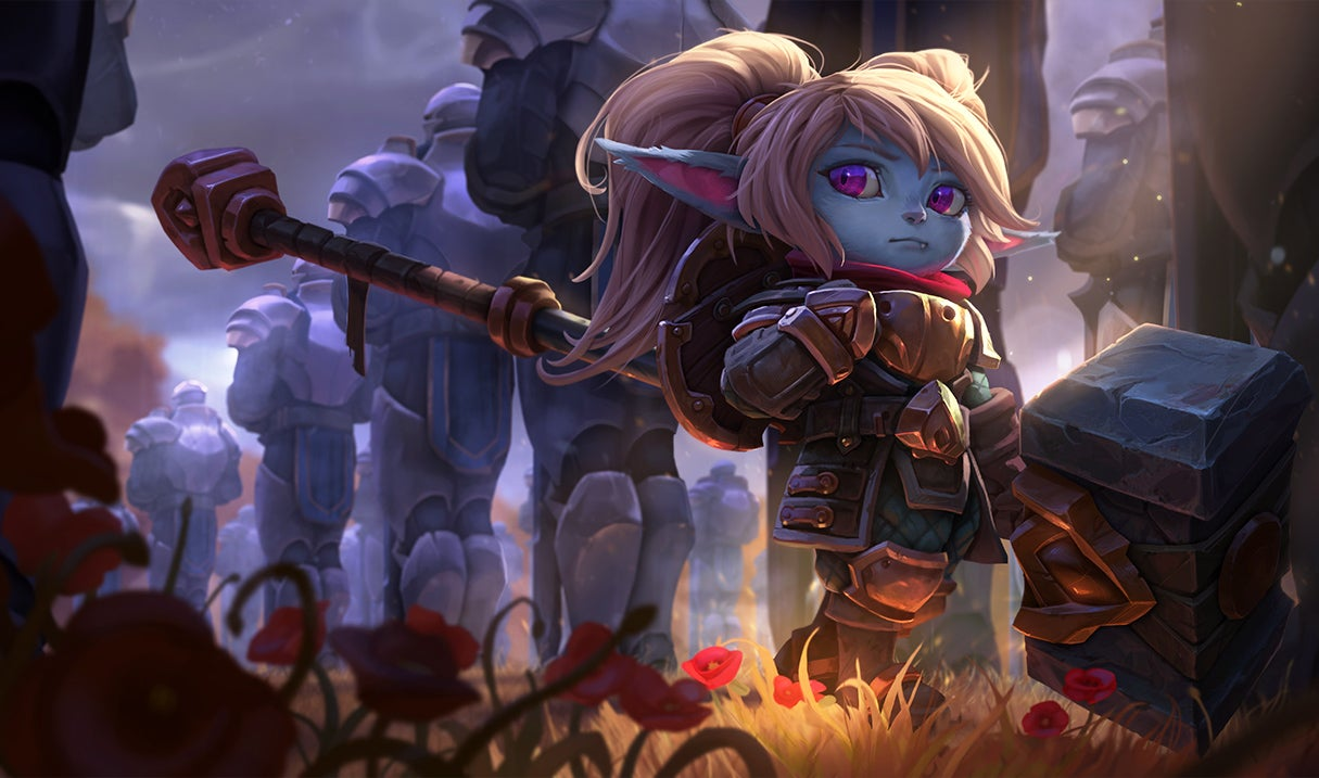 League Of Legends' New Poppy Is Live
