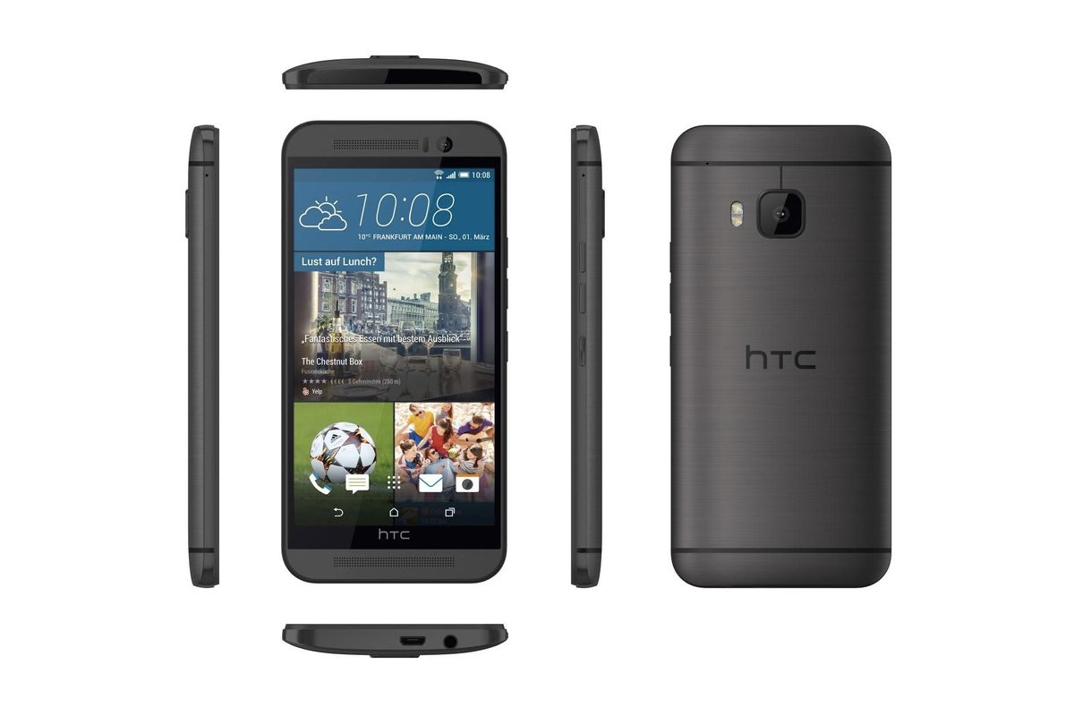 Leaked Renders Show HTC's New Flagship Phone From All Angles
