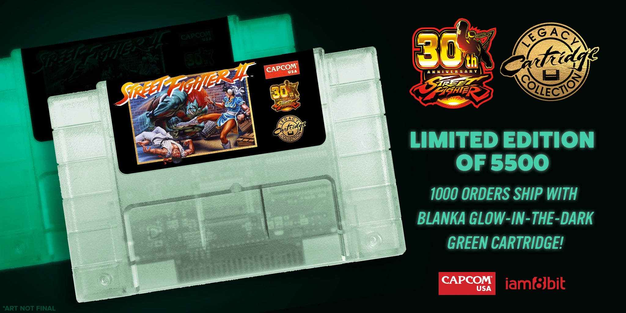 Capcom Re-Releases Street Fighter II Cartridge For The SNES