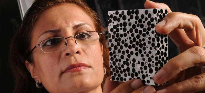 Metal Foam Protects From Heat and Explosion Twice As Well as Plain Metal