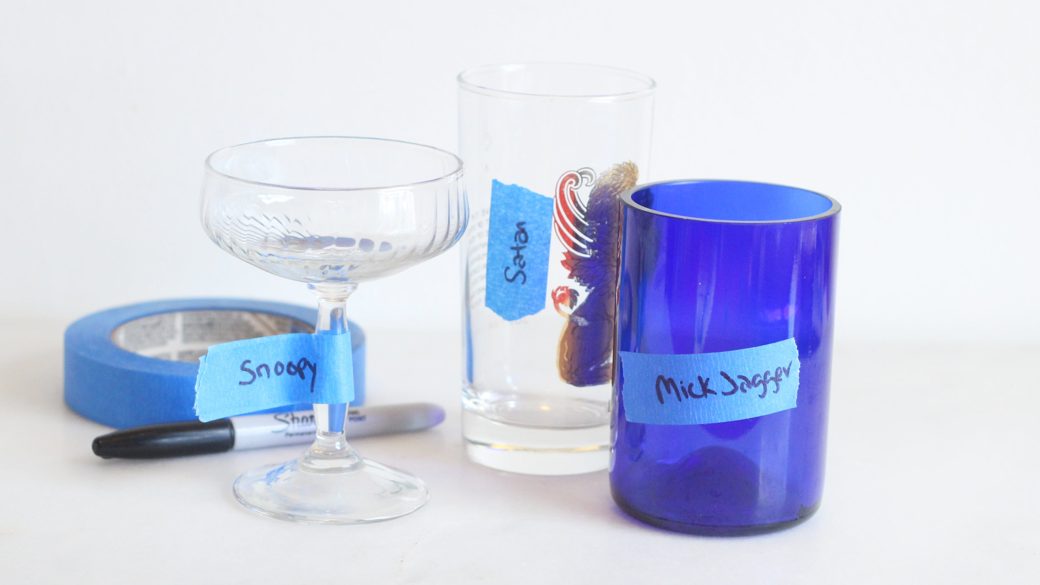 The Best Way To Keep Track Of Your Glass At A Party