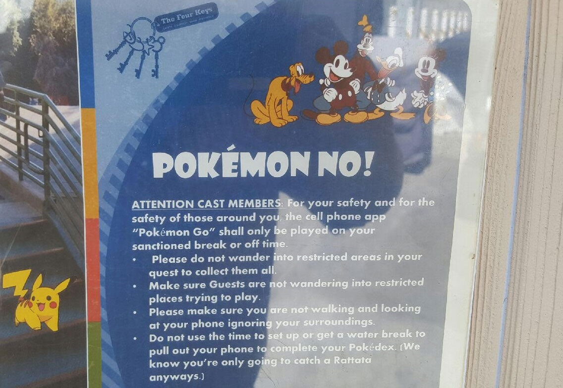 Disneyland Has A Pokemon GO Problem   Kotaku Australia