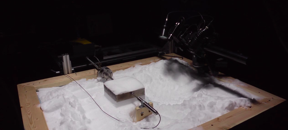 The Subzero Lab Where Scientists Recreate Avalanches In a Box