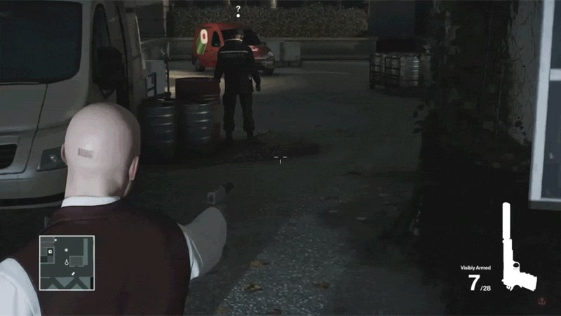 Hitman NPC Walks It Off Like A Champ