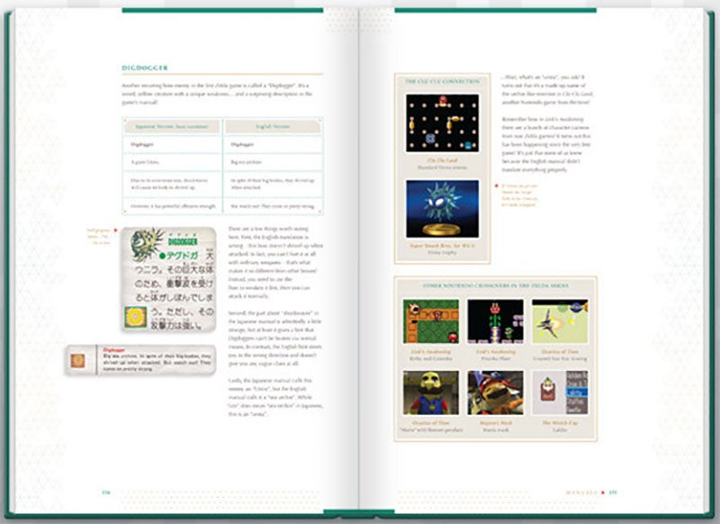 A Whole Book About The Difference Between The Japanese And English Zelda Games
