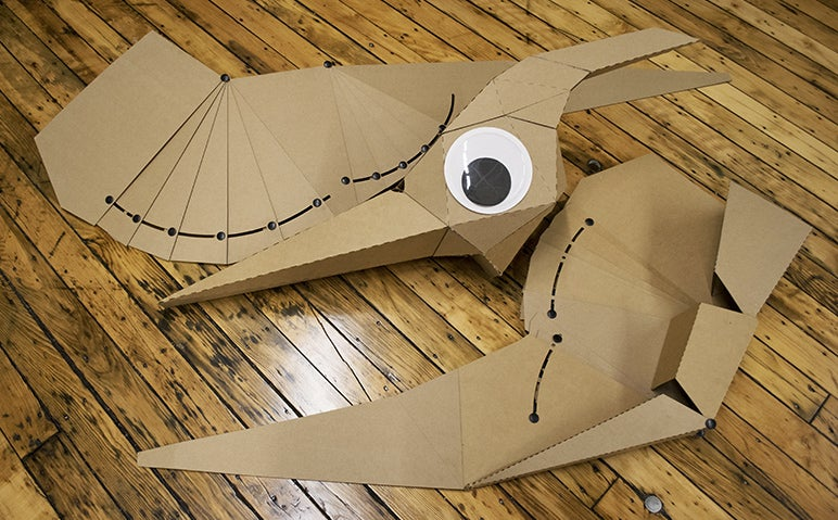 Cardboard Pterodactyls Are the Perfect Jurassic World Halloween Costumes