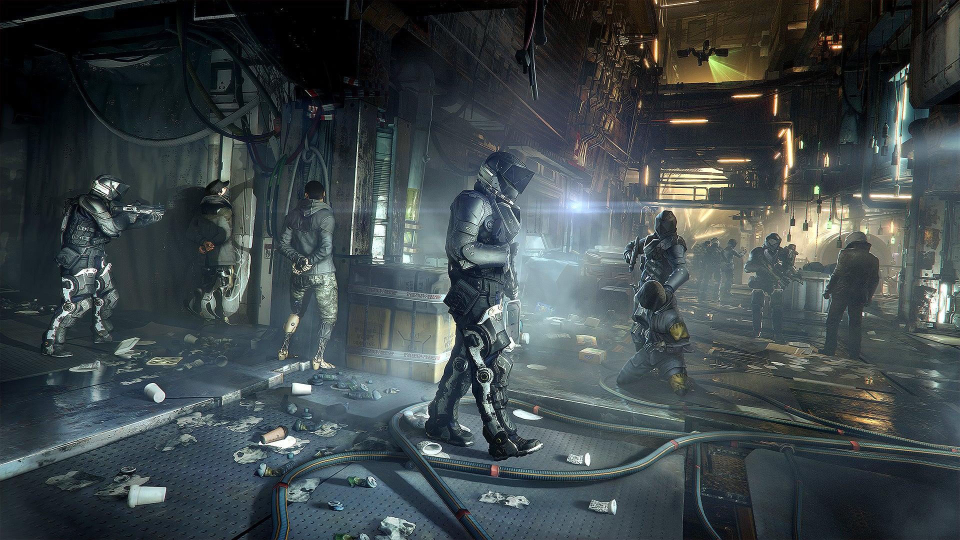 Deus Ex: Mankind Divided Headlines January's PlayStation Plus Lineup
