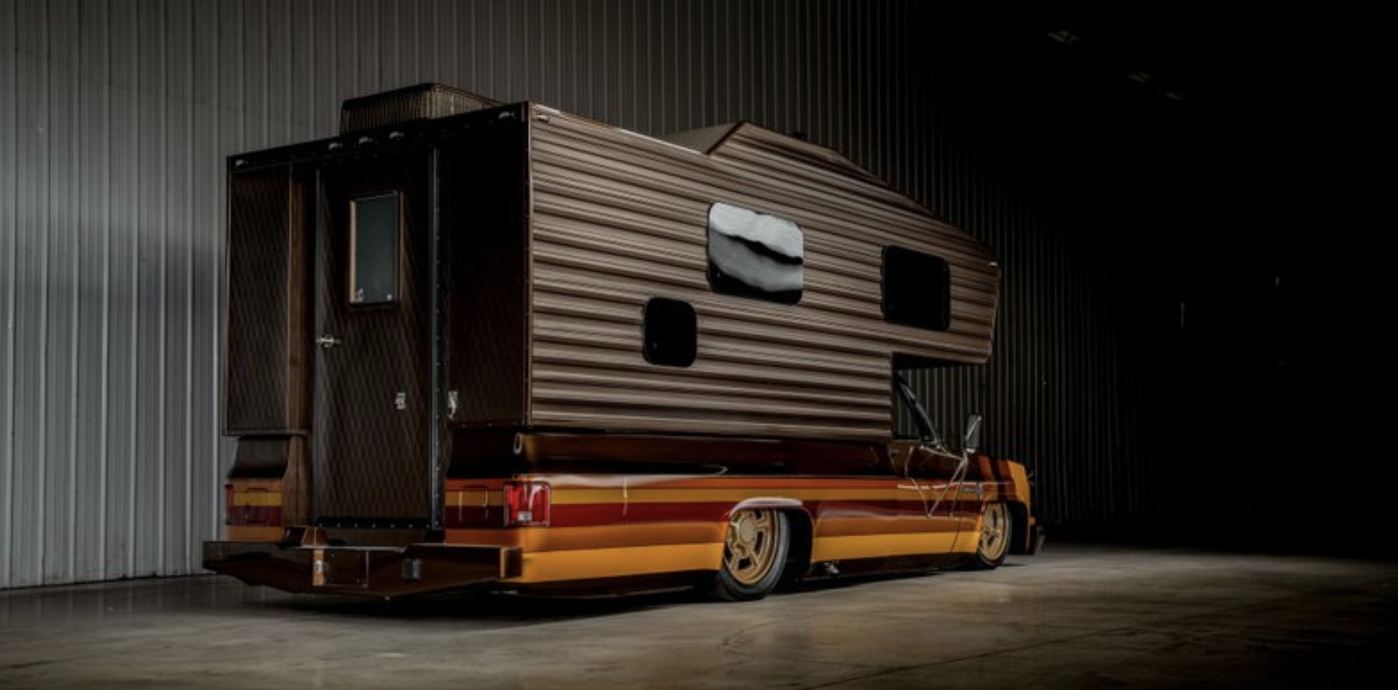 This Custom Retro Chevy Camper Is The Most Brown | Gizmodo ...