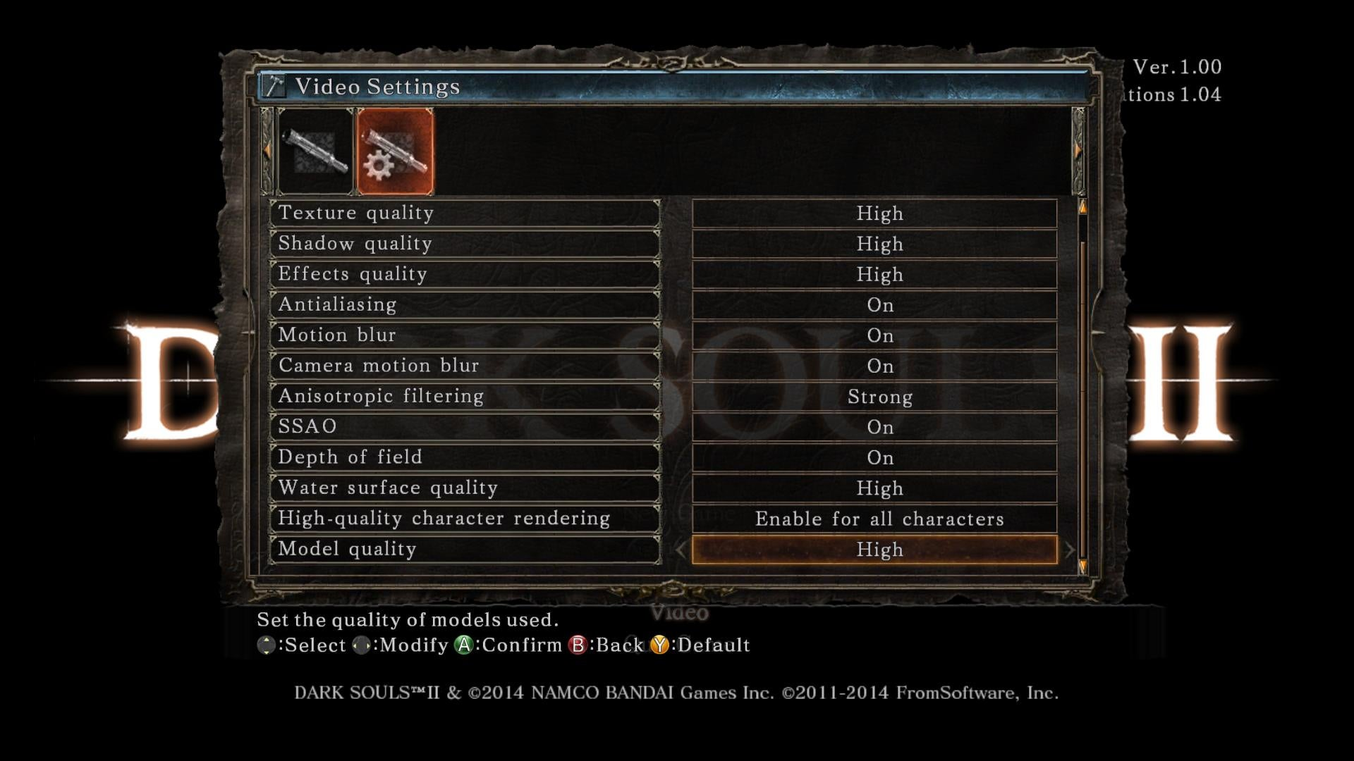 Here Are All The Settings For Dark Souls II On PC