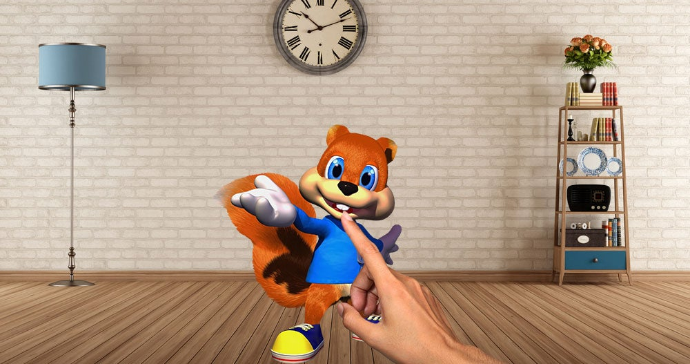 Report: HoloLens Dev Unit Includes Conker Game
