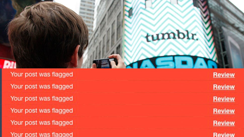 Tumblr's Porn Ban Is Off To A Predictably Stupid Start