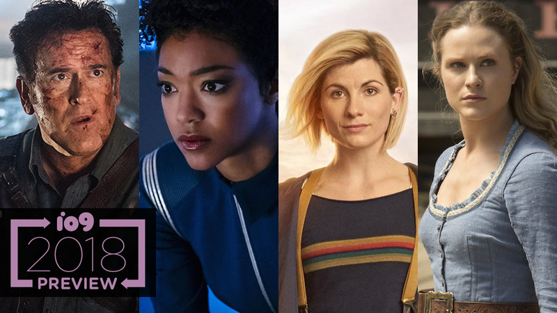 The Ultimate Guide To 2018's Scifi, Fantasy, And Superhero TV