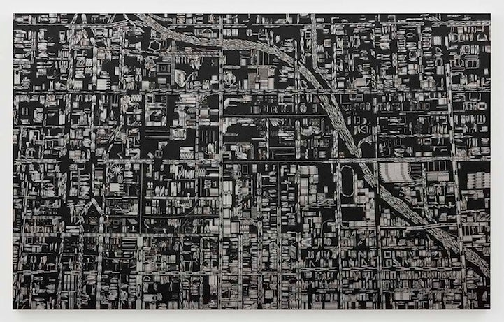 These City Maps Are Made Out of Razor Blades and Mirror Shards
