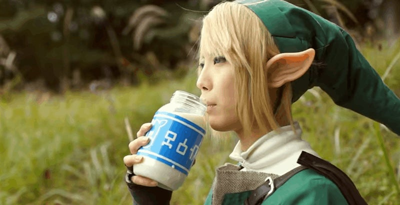 Some Very Fancy Legend Of Zelda Cosplay