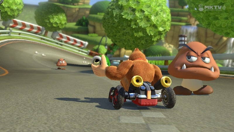 Not Being Able To Talk Trash Online In Mario Kart 8 Is Strange