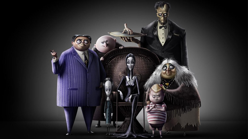Here's Your First Look At The New Animated Addams Family Movie, Now Starring Charlize Theron