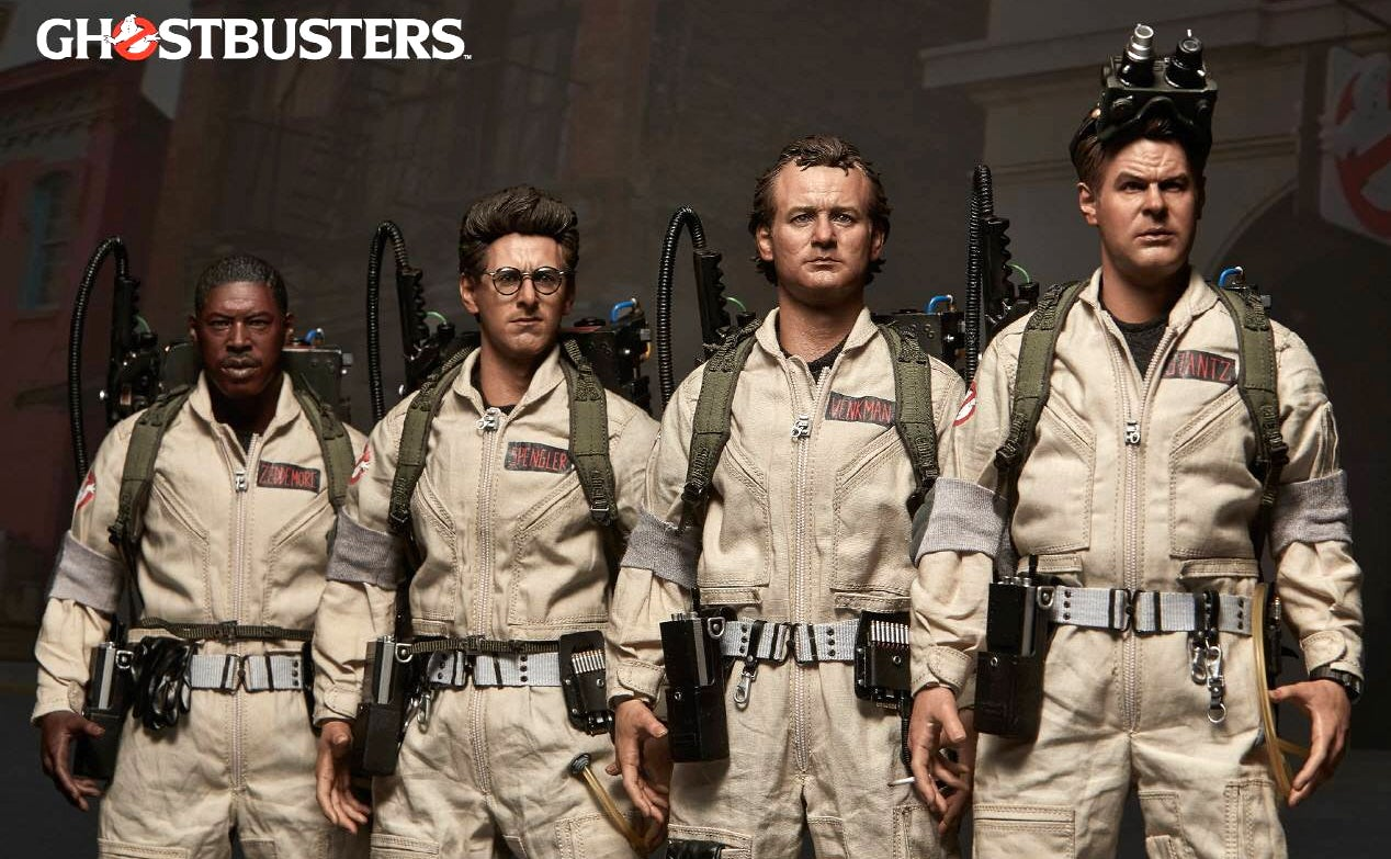 The Spirits of the Original Ghostbusters Might Be Trapped Inside These Life-Like Figures
