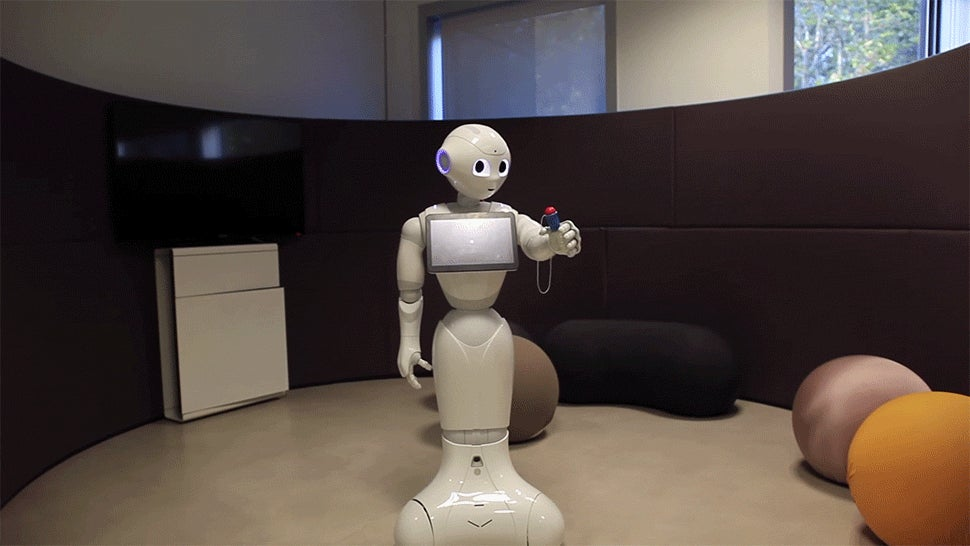 Don't Look Into This Robot's Eyes While It Learns to Play the Ball-and-Cup Game