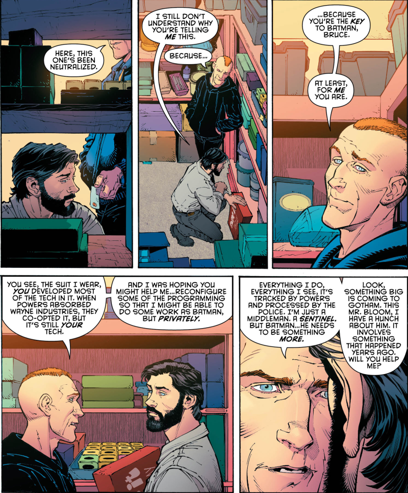 Proof That Commissioner Gordon Is Not An Idiot