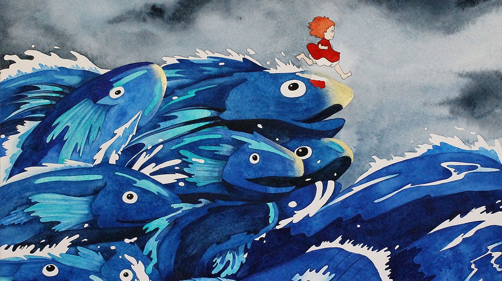 The World Can Always Use More Art Based On The Films Of Hayao Miyazaki