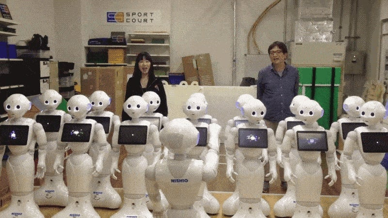 15 Singing Robots Sounds Like a Choir From Hell