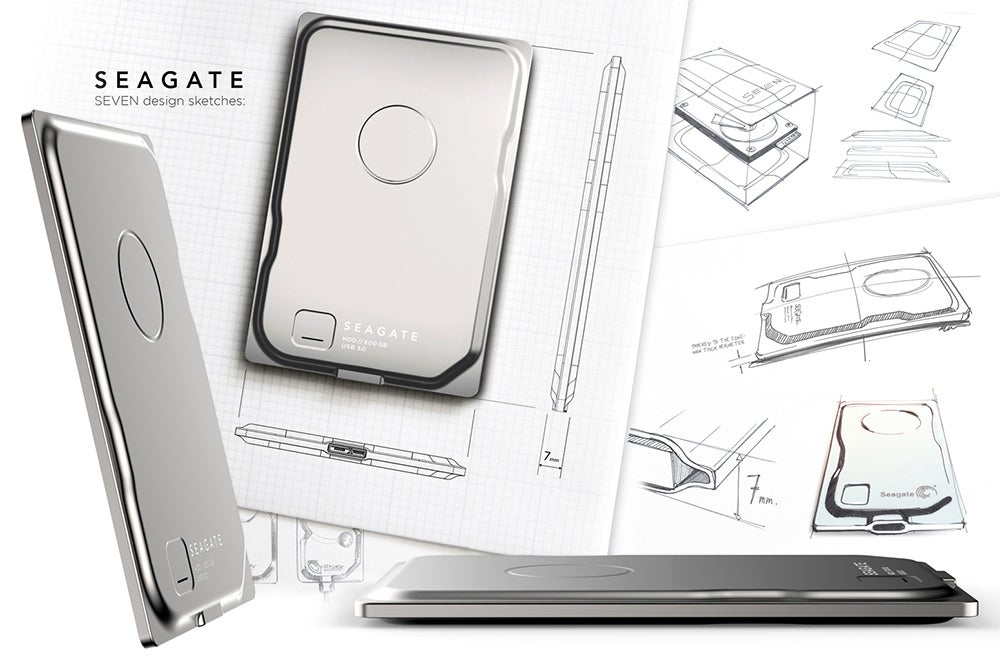 Seagate's Seven Is the World's Thinnest External Drive