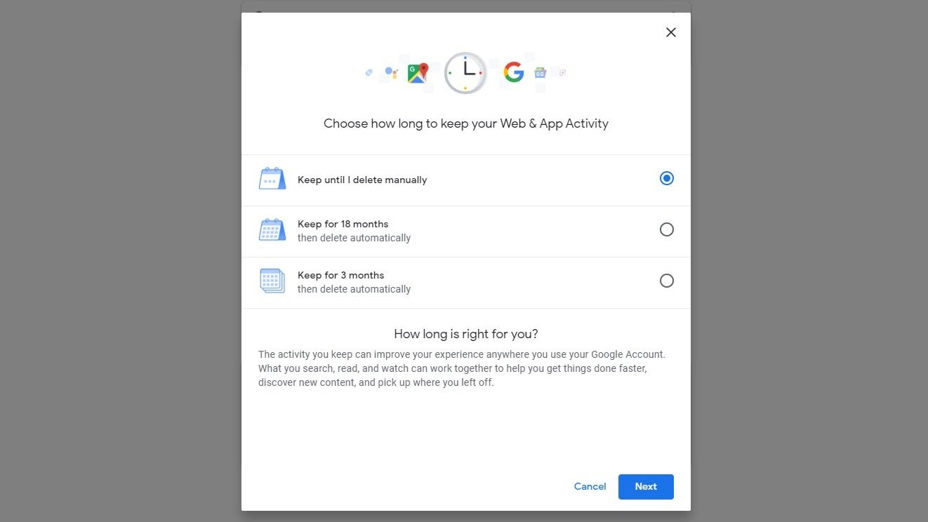 Google Starts Rolling Out Options To Auto-Delete Web & App, Location Histories Every Few Months