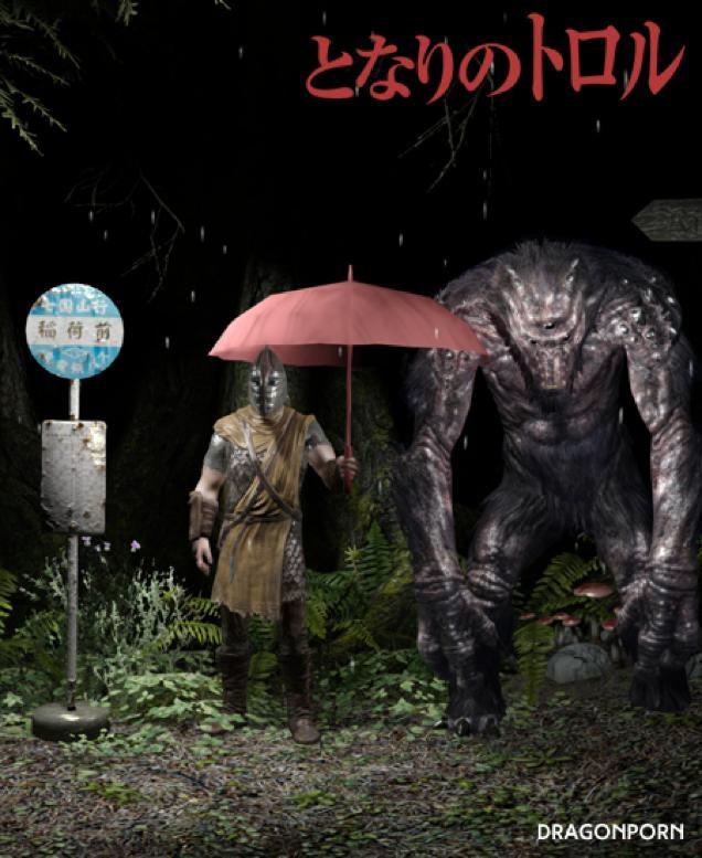 Just What Skyrim Needs: My Neighbour Totoro