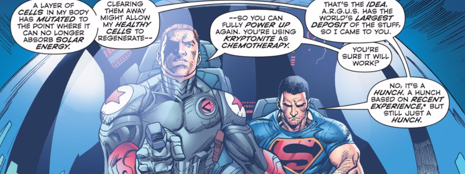 Superman's Latest Attempt at Getting His Powers Back Is Pretty Stupid