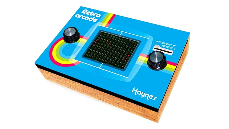 Build Your Own Classic Pong Arcade Machine, Complete With a Faux Wood Finish