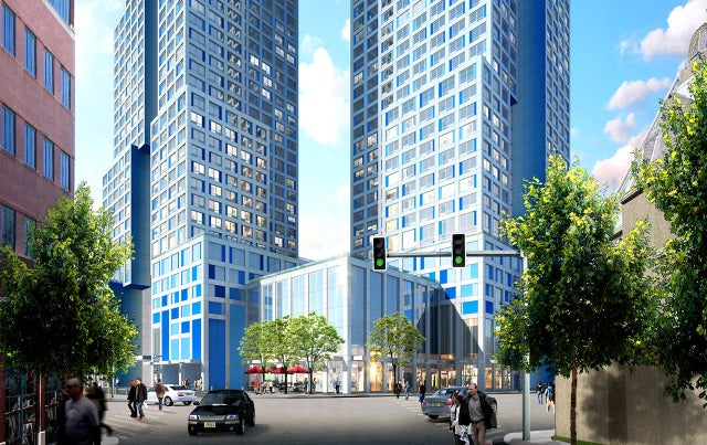 This Icy Blue Tower Will Be New Jersey's Tallest Residential Building