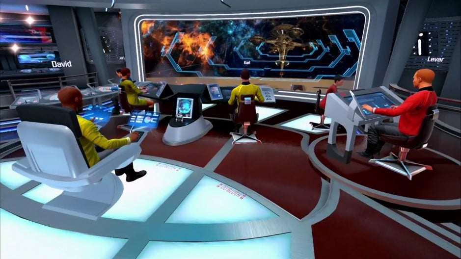 Our First Look At The Star Trek VR Game