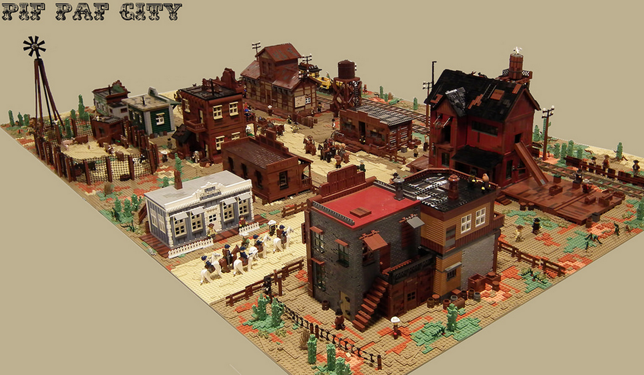 LEGO Wild West Town Is Huge And Has Everything