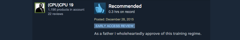 Who's Your Daddy, As Told By Steam Reviews