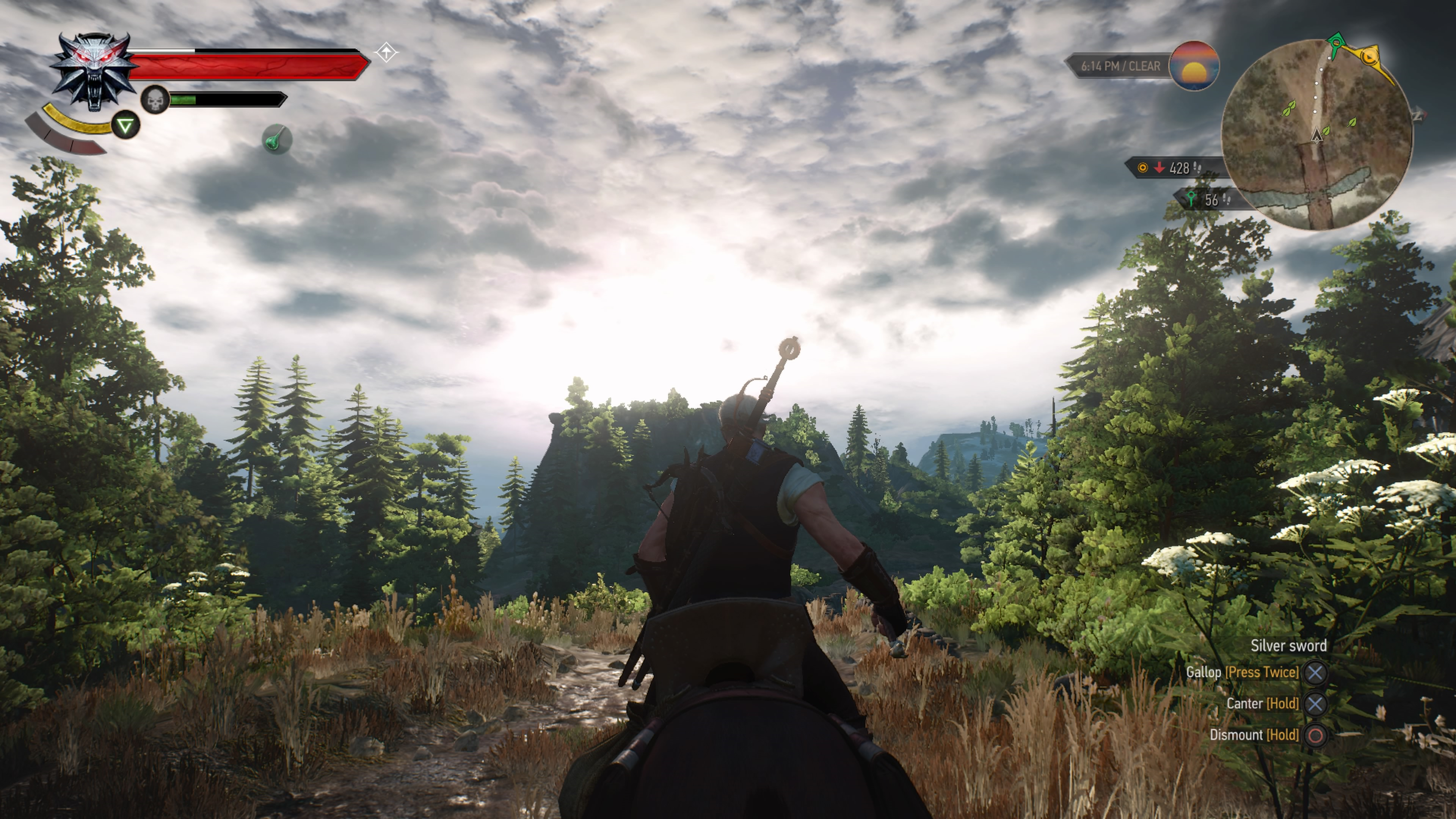 Things Are Finally Looking Up For The Witcher 3 On PS4 Pro