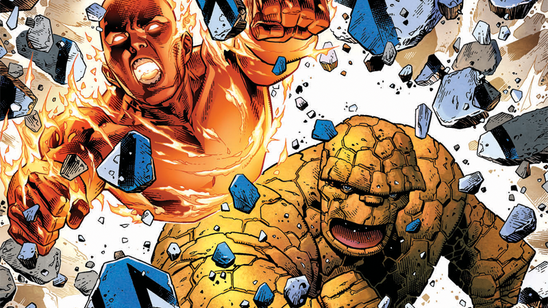 Johnny Storm And Ben Grimm Are Reforming The Fantastic… Err, Two,for Marvel Two-In-One