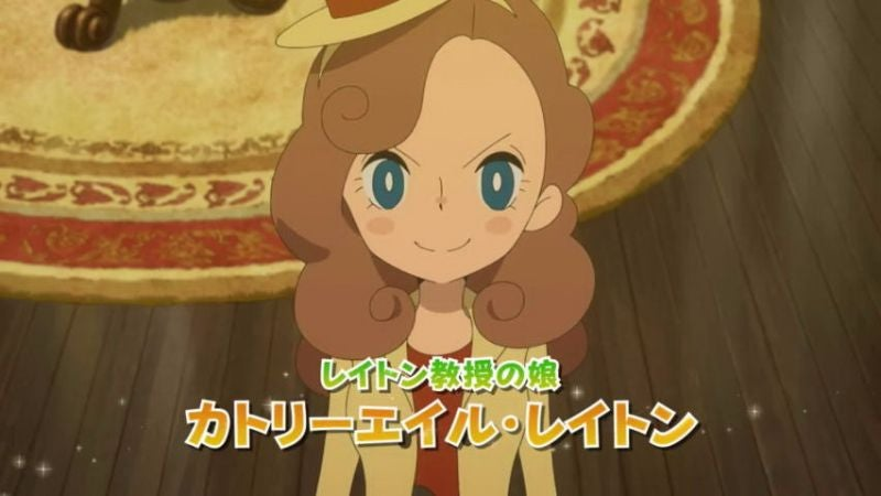The New Layton Game Is Called Lady Layton